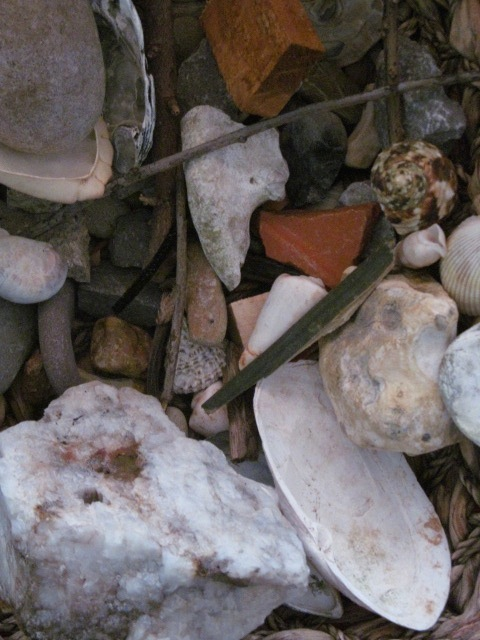 Creative counselling: Stones, shells & sticks for the sand-box