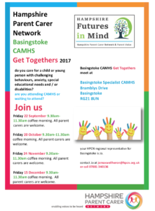 hampshire parent carer network
